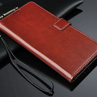 Factory Supply Directly High Quality PU Leather Mobile Phone Case with Card Holder and Stand Function for LG Optimus G Pro 2