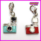 New model of pendant 3d enamel mini camera pendant wholesale(19464)