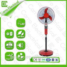 New products battery rechargeable electric fan rechargeable emergency light fan