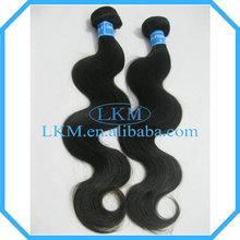 no lice!no gray!no shedding! non-processed hair,brazilian hair body wave
