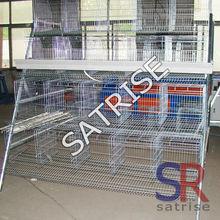 hot galvanized multi-tier chicken cage