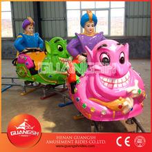 China amusement kiddie rides manufacturer, playground electric mini train children funny track train