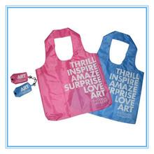 folding shopping bag,reusable Shopping Bag Folding Polyester Bag,flower polyester folding bag