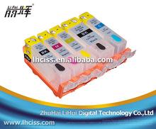PGI 520/CLI 521 refill ink cartridge with chip for Canon PIXMA IP3600 printer