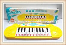 New item Kids plastic musical instrument mini piano toy
