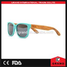 High quality fashion wooden sunglasses