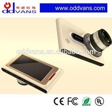 New design Ambarella A10 dual lens camera car dvd player with reversing camera