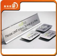 XHFJ-B-Badge37 Plating silver pin badge aluminum