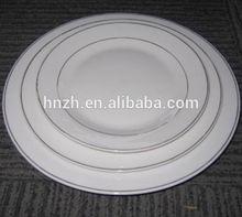 porcelain cheap bulk dinner plates