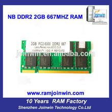 Electronic part full compatible ETT original chips ddr2 2gb ram mobile phones