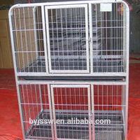 Metal Folding Double Dog Crates