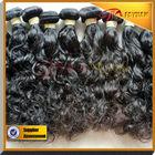 Can be dyed cheap 100% virgin brazilian hair deep wave hair weft hair extension
