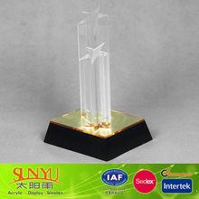 Wonderful Star Shaped Crystal Acrylic Award Trophy Crystal Color