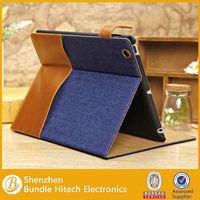 2014 Bundle new design best popular leather flip case for ipad 2 3 4