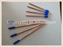 2014 ball hot selling erasable pen refill metal pen refill