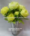 Alta qualidade artificial atacado penoy flor fazendo/hot venda de seda artificial flores penoy made in china