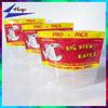 Resealable plastic ziplock fishing lure packaging