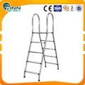 ステンレス鋼304材料4ステップダブルフレームプールはしご