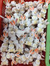 promotion cheap small plastic rabbit toys
