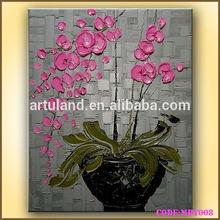 Flower vase painting designs
