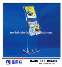 Customs design acrylic small advertisment display