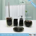 nuevo ea0090 negro de lujo francés italiano 5pc cuarto de baño set de baño y ducha decoración de hogar
