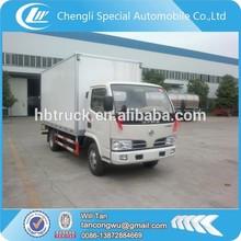 Dongfeng vans de carga, 3.5 toneladas van da carga do caminhão
