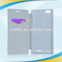 2014 new high quality smart flip back cover for Lenovo K900
