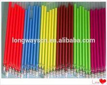 colorful ballpoint colourful led flashing mini ball pen refill