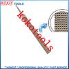 tang type professional teeth flat wood rasp file