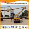 14m-16m plataforma aérea de trabajo sobrecarga de trabajo de carro del camión de plataforma montado cesta articulado plataforma