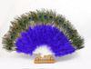 Supply High grade Peacock Feather Fan For Party Fashioned Masquerade props Handmade Party Dancing Feather Fans