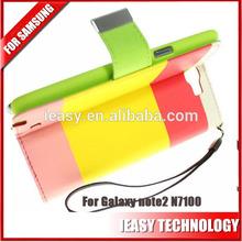 wholesale alibaba n7100 case for galaxy note 2 case wallet