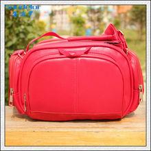custom design manufacturer leather dslr camera bag