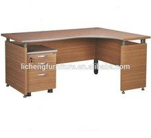 Melamine laminated particle board office desk furniture