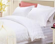 hotel white single bed sheet set