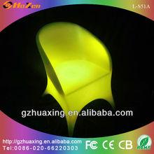 2014 hot sale led furniture/led glowing bar sofa L-S51A