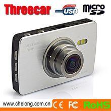 2.7inch Touchscreen 170deg angle GPS SOS G-sensor 4X zoom gs8000l car dvr