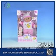 Top marca design de alta qualidade baby alive aprende a boneca potty