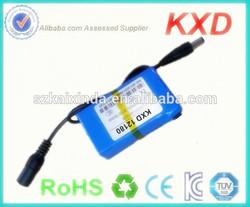 rechargeable lipo 1800mah 12v battery small