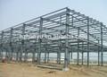 Dois- andares estrutura de aço casa/bonito/sólidos