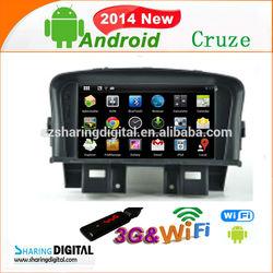 CVE-7063GDA android car dvd chevrolet cruze car audio dvd
