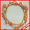 la couleur orange de fille de fleur couronne de la tête en vrac pour la vente