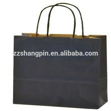 Cheap brown kraft paper packaging bags with handles