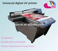 2014! çin a0 boyutu ile UV flatbed yazıcı DX5 yazıcı