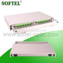 [SOFTEL]high quality 12 cores odf fiber termination box,fiber optic termination box/ODF,odf optical fiber distribution frame