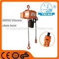 Palan électrique à chaîne 0.5t/3 moteur triphasé électrique de levage de levage