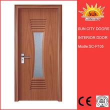 Security pvc patio door designs/ glass sliding door/ pvc doors interior