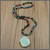 LS-D579 NEW styles!!! multicolor gemstone necklaces