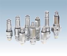 pressure relief valve komatsu,kobelco excavator